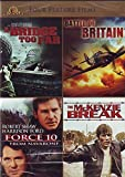 Four Feature Films: A Bridge Too Far, Battle of Britain, Force 10, The Mckenzie Break