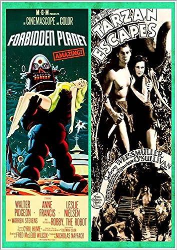 The Forbidden Planet' (1956) & 'Tarzan Escapes' (1936