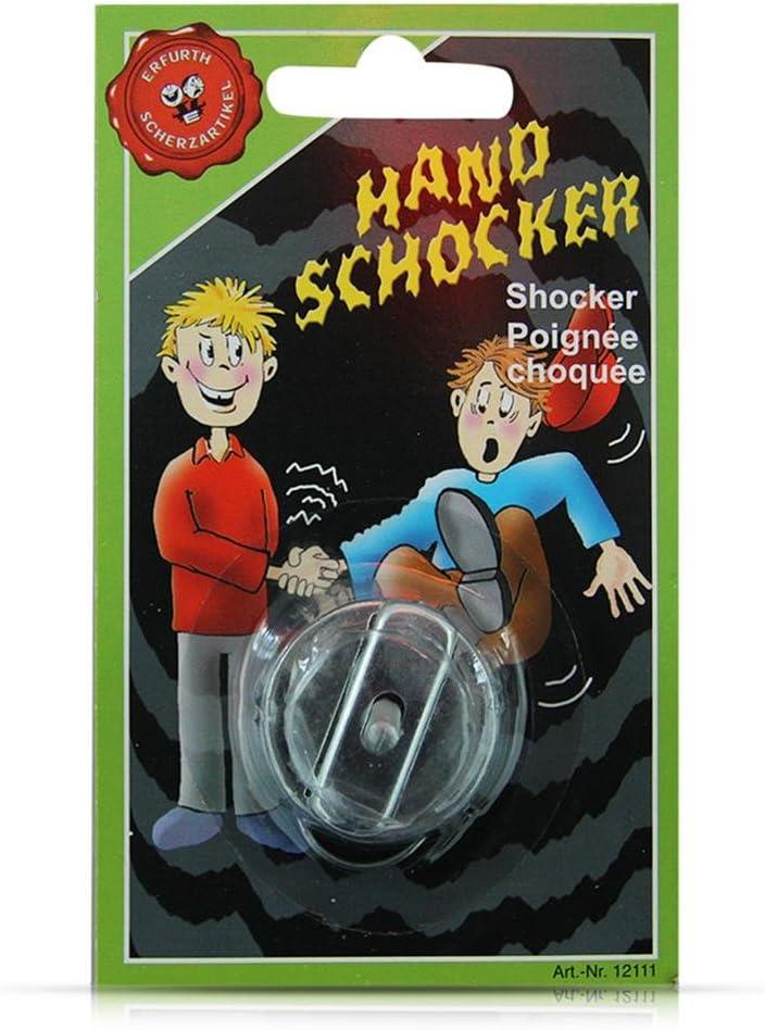 Erfurth Scherzartikel 12111 Handschocker Auf Karte Verschiedene Spielwaren Amazon De Spielzeug