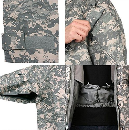 Acu Digital Camo Short (GI ECWCS GENERATION II ACU Digital Camo Cold Weather PARKA (Medium Short))