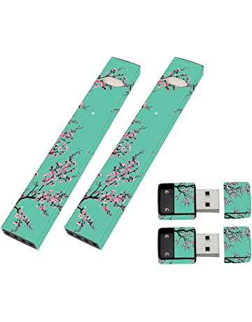 MightySkins 2 Pack of Full Coverage Skins for JUUL and Charger - Cherry Blossom Tree |
