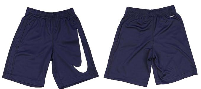 983e114ac06dd Amazon.com: Nike Little Boys' Big Swoosh Performance Shorts Black ...