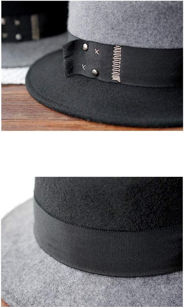 ChengLaoBan Shop Hut, Hut koreanische Version des flachen Hut Herbst und Winter Jazz Hüte warmen Reise Retro, freie Größe Dame Wintermütze A