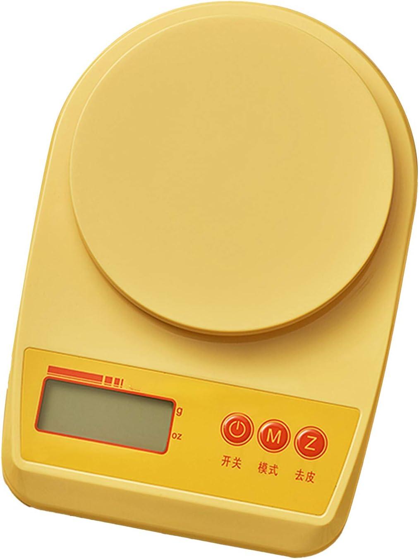 KOMOSO 1 PC Digital de Cocina de Alimentos Báscula de Pesaje de Cocina Báscula de Cocina Para el Hogar Oficina Uso Función de Tara Fácil de Limpiar Plataforma