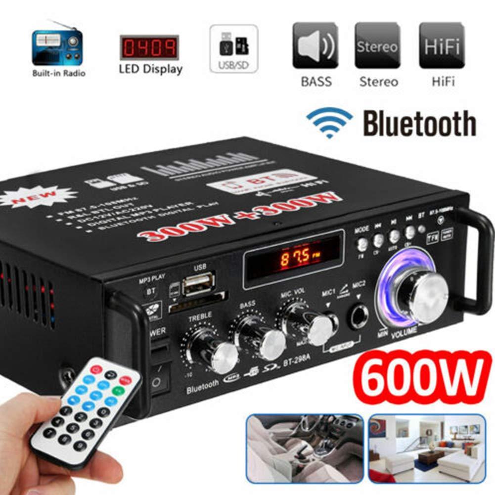 Amazon.com: Serveyou Stereo Audio Amplifier Bluetooth ...