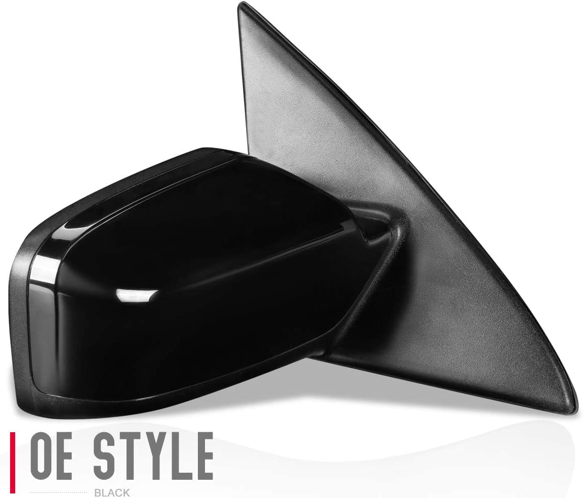 DNA Motoring OEM-MR-CH1320298 Factory Style Powered+Heated Left Side View Door Mirror