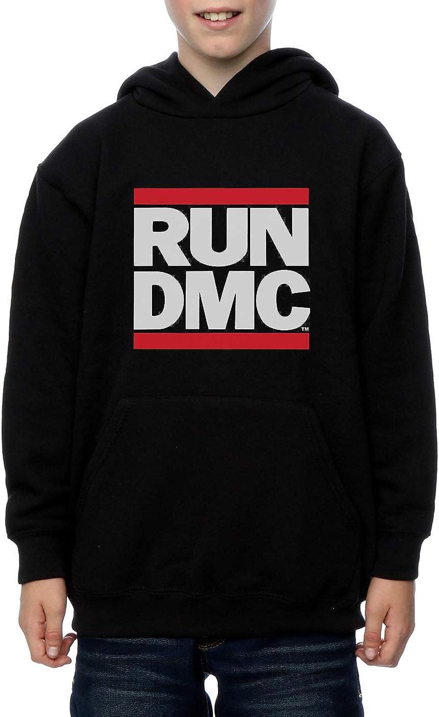 Run DMC Bambini e ragazzi Classic Logo Felpa con cappuccio