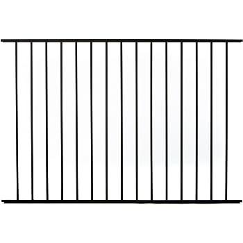 Amazon Com Specrail Diy Fence Rr9482bl Bethany Aluminum