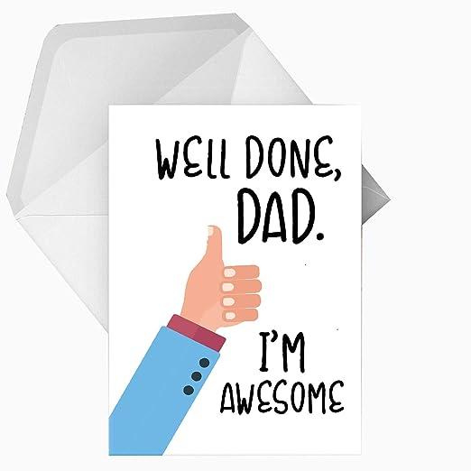 Divertida tarjeta de felicitación de cumpleaños o día del ...