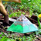 Orgone pyramid with orgone energy- healing crystal