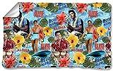 Elvis - Blue Hawaii Fleece Blanket 57 x 35in
