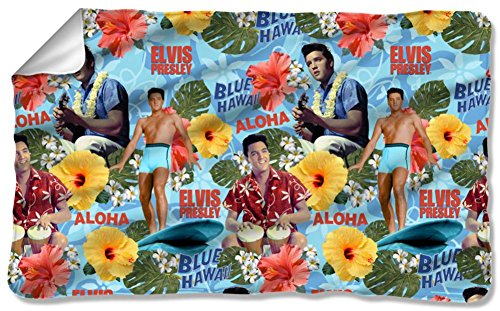 (Elvis Presley Fleece Blanket)