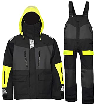 Amazon.com: Navis Marine Offshore chaqueta de vela babero ...