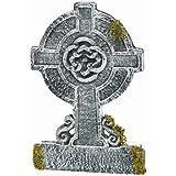 22in Mossy Celtic Cross Tombstone (Standard)