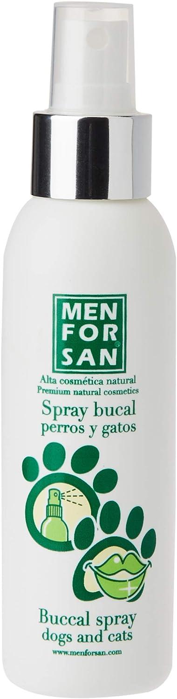 MENFORSAN Spray Bucal Perros Y Gatos contra mal aliento - 125 ml