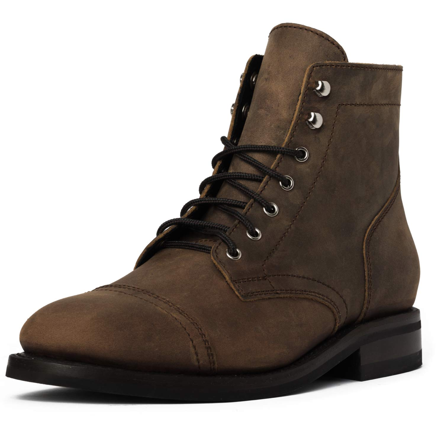 Thursday Boot Company Men's Rugged & Resilient Captain 6'' Lace-up Boot, Burnt Copper