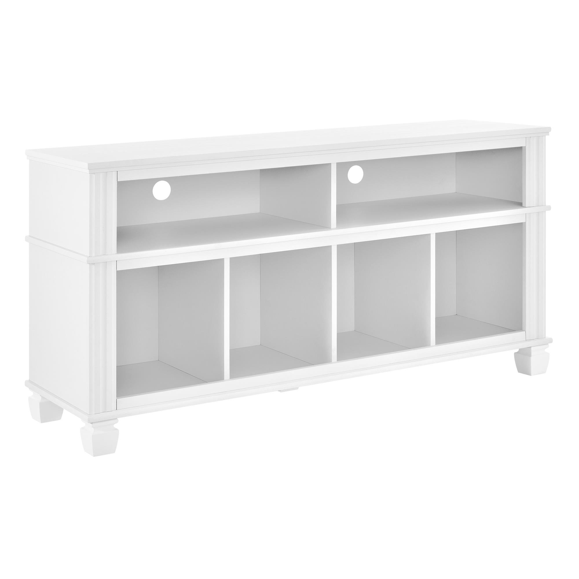 Ameriwood Home Woodcrest TV Stand for TVs up to 55'', White