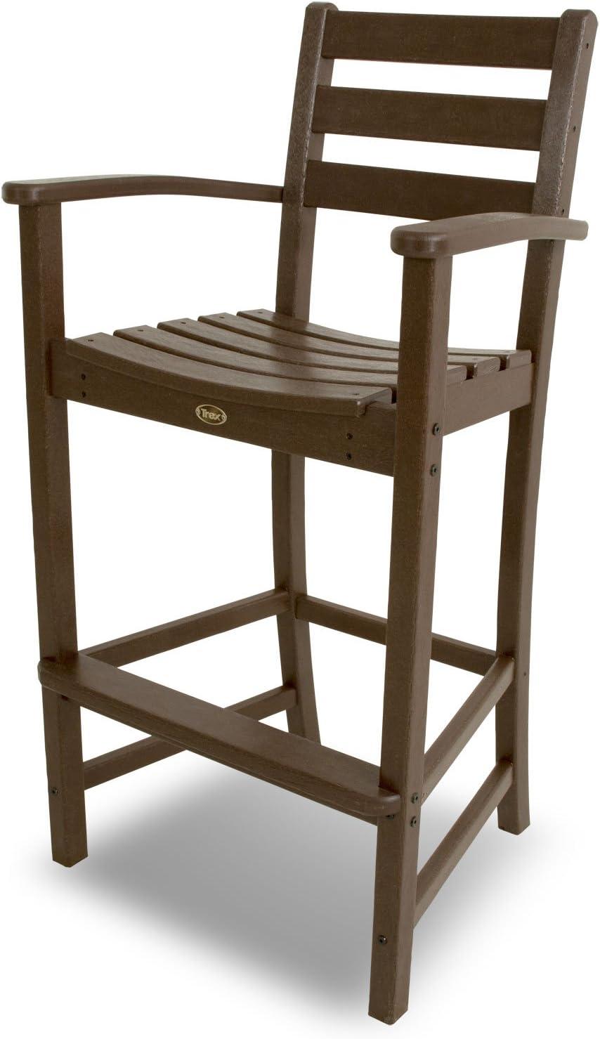 Trex Outdoor Furniture Monterey Bay Bar Arm Chair ,Vintage Lantern