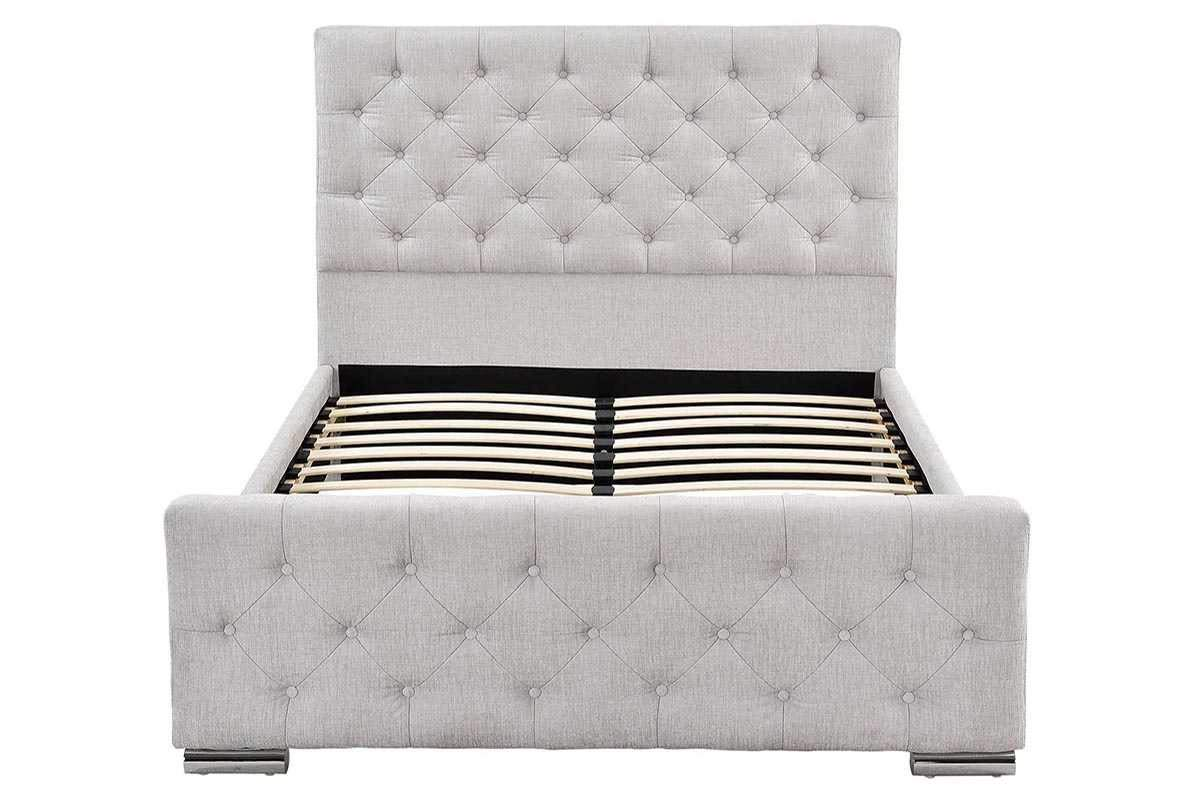 Amazon.de: Sleep Design Buckingham Luxus-Polster-Bettrahmen, mit ...