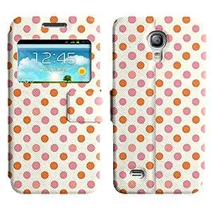 LEOCASE Simples Puntos Funda Carcasa Cuero Tapa Case Para Samsung Galaxy S4 Mini I9190 No.1000084