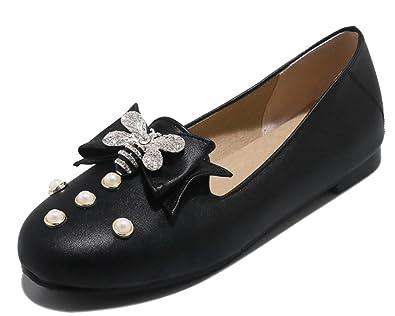 HiTime Damen Espadrilles, Schwarz - Schwarz - Größe: 40