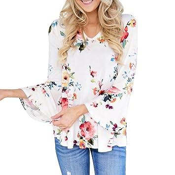 Camisetas Mujer de Vestir Fiesta Tallas Grandes - S~5XL,LILICAT® Blusa Tops