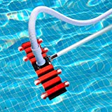 Aquatix Pro Pool Vacuum Head with Wheels, Aluminium