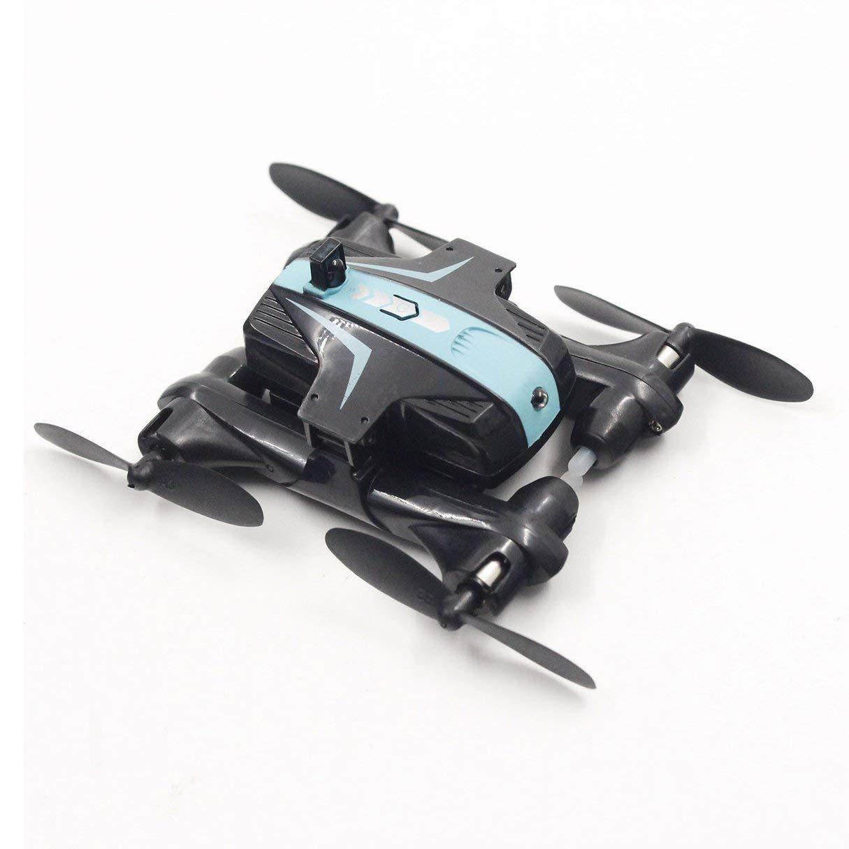 Wafalano AG-03 Cuatro Ejes Plegable Altitud Mantener Saltos Drone Modo sin Cabeza Saltos Mantener en 3D Función de Guerra por Infrarrojos en Vuelo Interior RC Quadcopter 57b7f4
