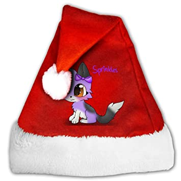 ca34562b99156 Image Unavailable. Image not available for. Color  Aphmau Cat Adult Unisex Kids  Christmas Hat Xmas Santa ...