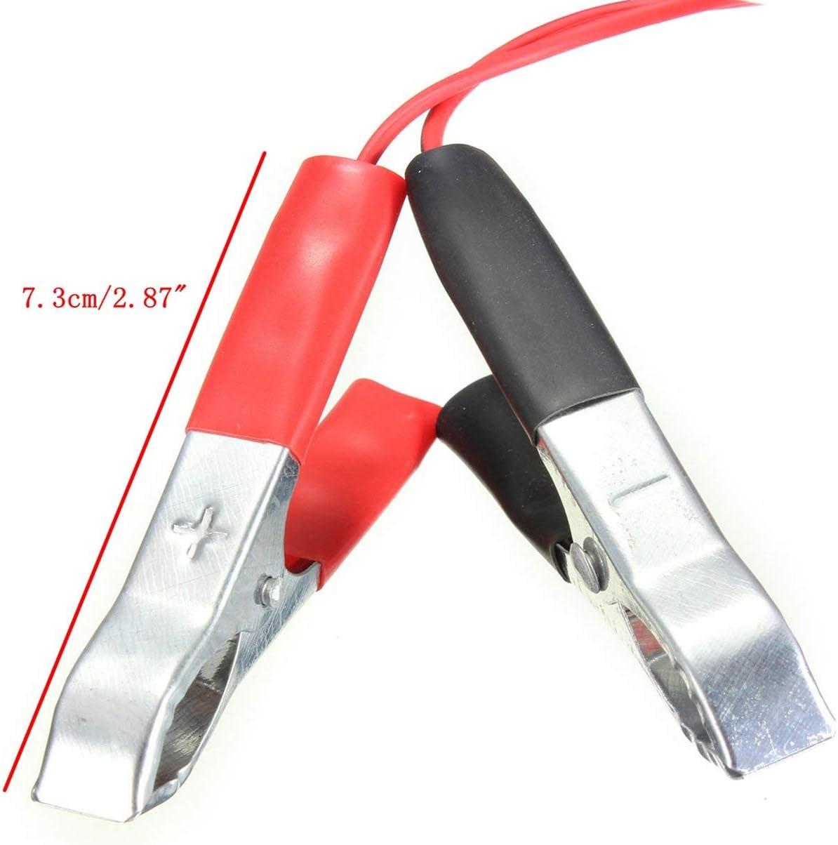 12V Auto-Hilfs Zigarettenanz/ünder Batterie Krokodilklemmen Adapter