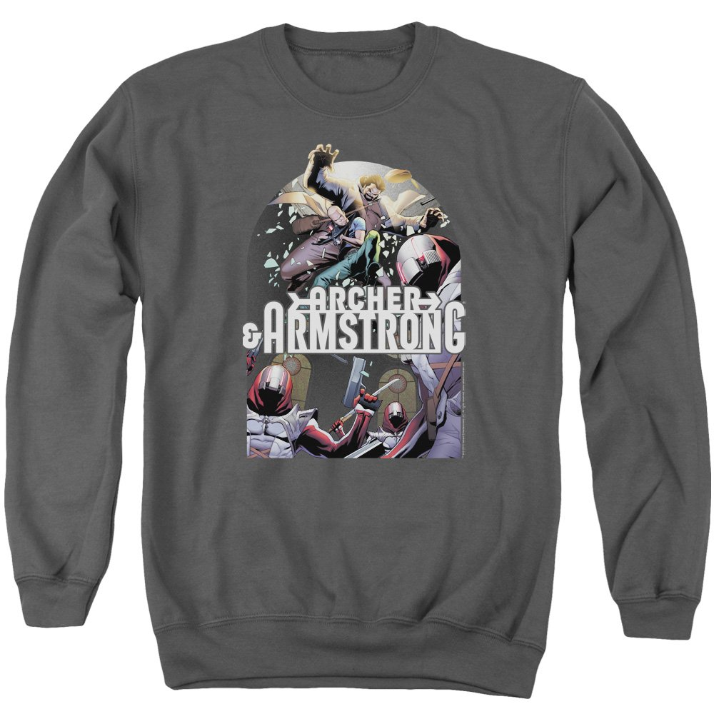 Archer & Armstrong - Herren-Dropping In Sweater