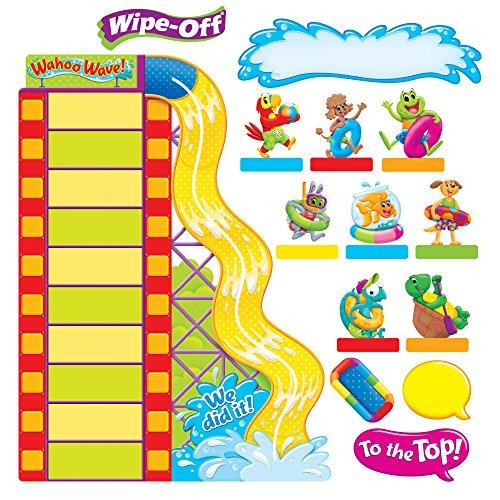 (TREND enterprises, Inc. T-8421 Playtime Pals Goal Setting Adventures Bulletin Board Set)