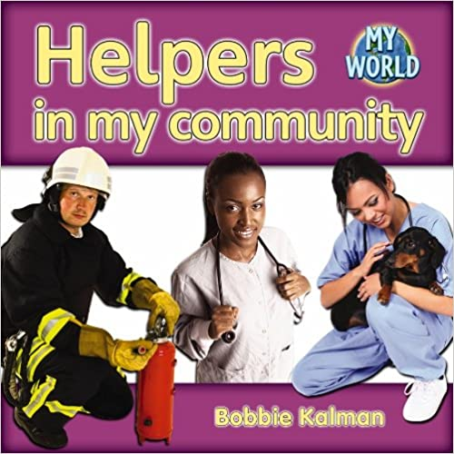 front-cover-of-helpers-in-my-community-book
