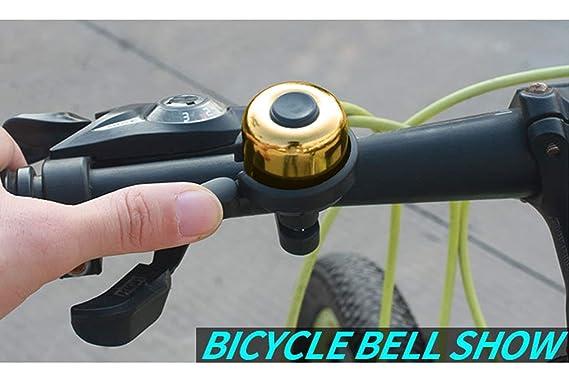 Amazon.com: Famolay Mini Timbre de Bicicleta de Latón Cuerno ...