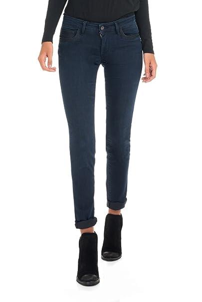 SALSA Pantalones vaqueros Wonder Push-up con detalle de napa ...
