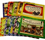 img - for Hairy Maclary 10 Books Collection Set Pack RRP  59.90 (Hairy Maclary from Donaldson's Diary, Rumpus at the Vet, Hairy Maclary's Show business, Hairy Maclary's Caterwaul Caper, Scattercat, Zachery Quack, Sit, Bone, Hat Tricks, Shoo) (Hairy Maclary) book / textbook / text book