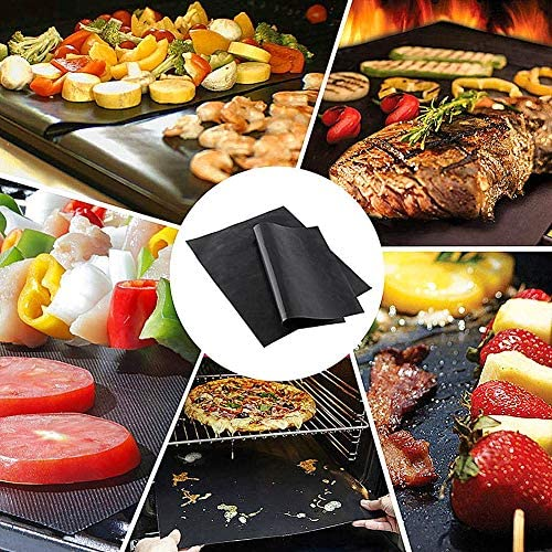 Magic Barbecue Magic Barbecue Tapis de Cuisson Grill Tapis Four doublures pour Fond de Four Barbecue Grill Tapis
