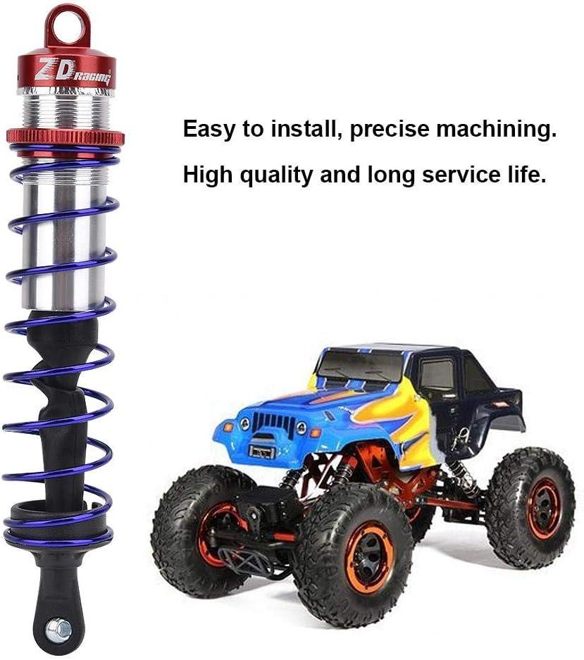 RC Shock Absorber Blue Metal Oil Pressure Adjustable Shock Front /& Rear Damper Compatible with 1//8 RC Car