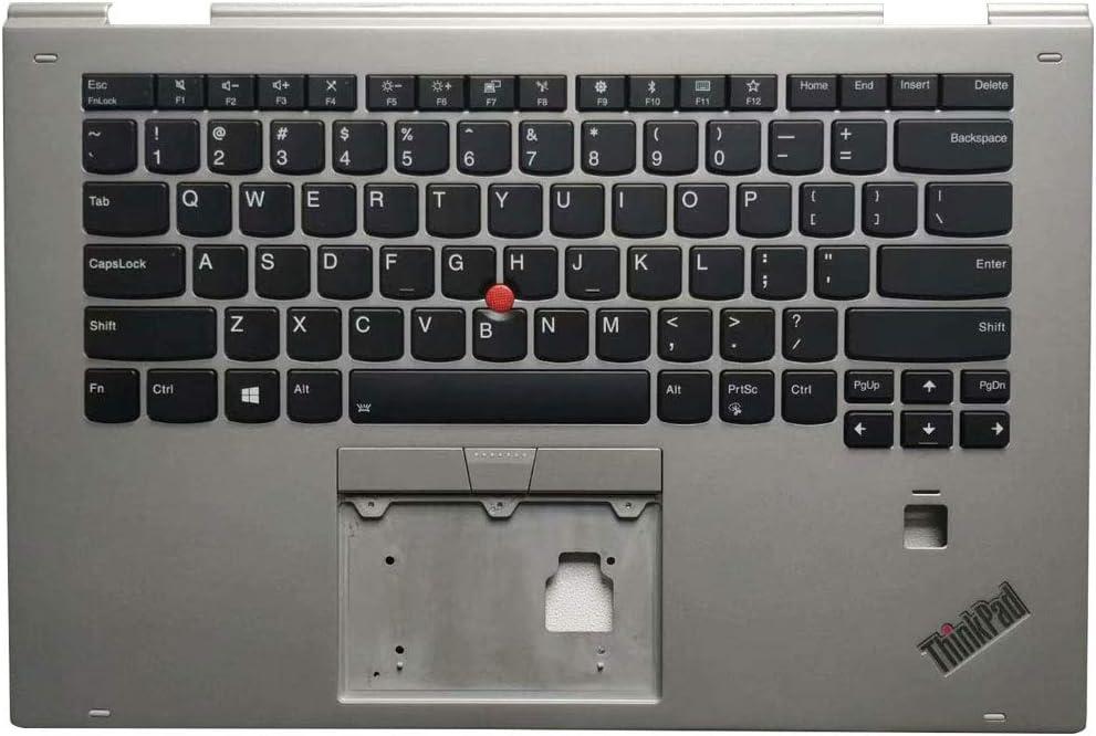 Laptop Replacement Keyboard Fit Lenovo ThinkPad X1 Yoga 2ND SM10M69731 SM10M29022AF SM10M69725 SM10M28981AF US Layout Sliver