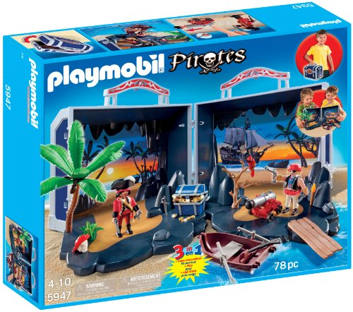 Chest Treasure Pirate Playset - PLAYMOBIL® Pirate Treasure Chest