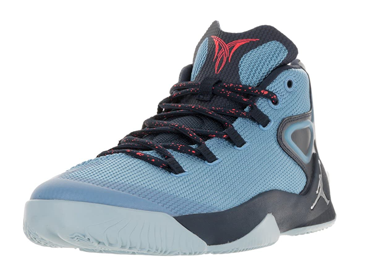 f57bcb6a37584d Nike Jordan Men s Jordan Melo M12 Basketball Shoe Unvrsty Bl Mtllc  Slvr Mdnght N 9 D(M) US  Buy Online at Low Prices in India - Amazon.in