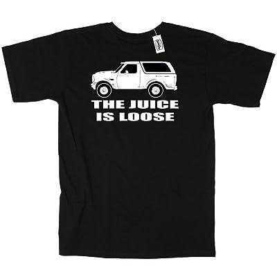 KING THREADS OJ Simpson White Bronco Juice is Loose T-Shirt