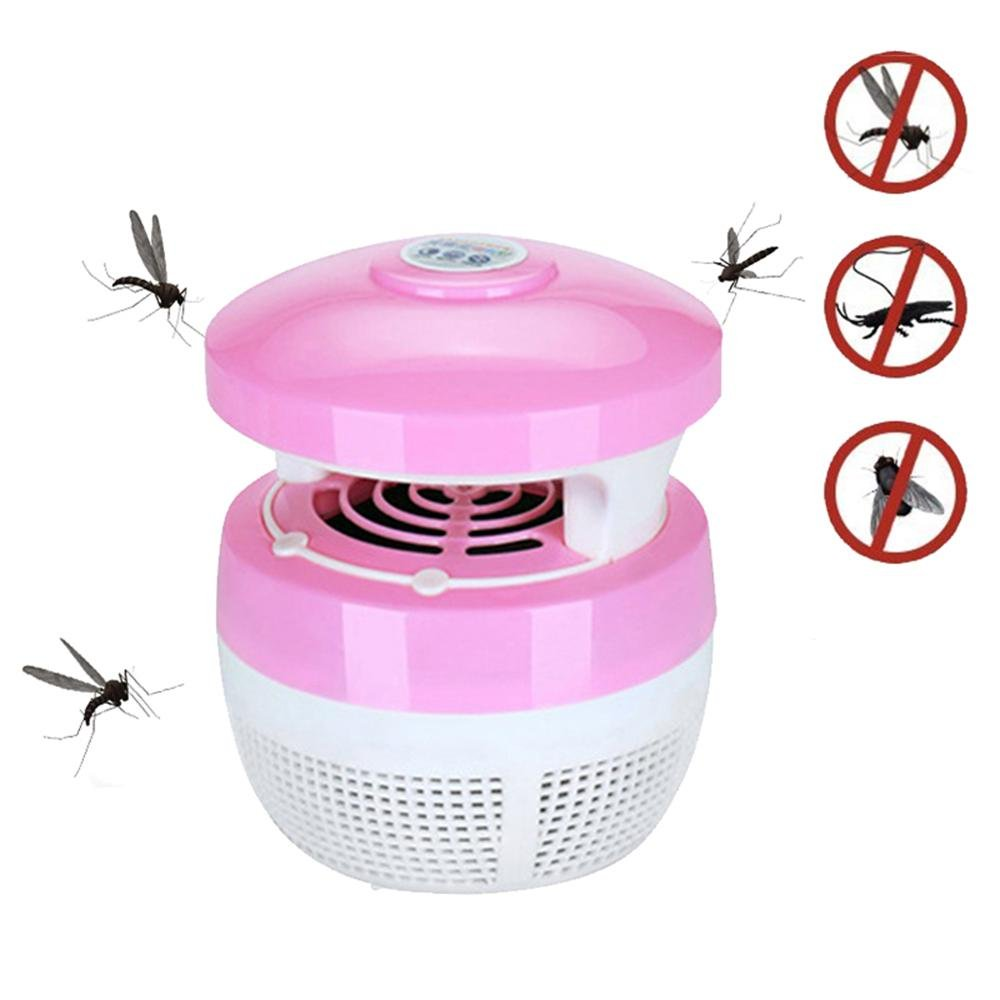 Teepao Electronic Indoor Bug Zapper, Insect Trap, Mosquito Trap, USB Powered Mosquito Zapper Lamp with Built in Fan Mosquito Catcher Trap for Home Kitchen Restaurant Garden Patio Yard Office