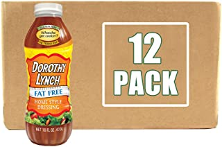 product image for Dorothy Lynch Light & Lean Salad Dressing 16 oz | Case of 12 | Gluten Free | No MSG or Trans Fat | Best Dressing & Condiment | Made In USA