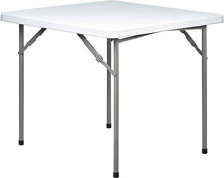Hartleys Table Pliable Carrée - Parfait pour l\'usage a l\'intérieur ou à  l\'extérieur