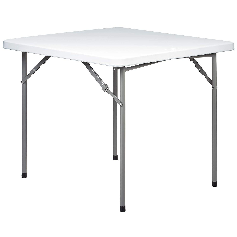 Hartleys Mesa plegable cuadrada de 91,4 cm - Adecuada para uso en ...