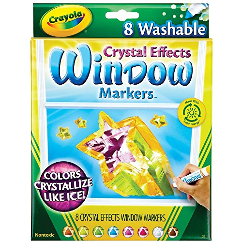 Crystal Markers (Crayola Window Markers with Crystal Effects)