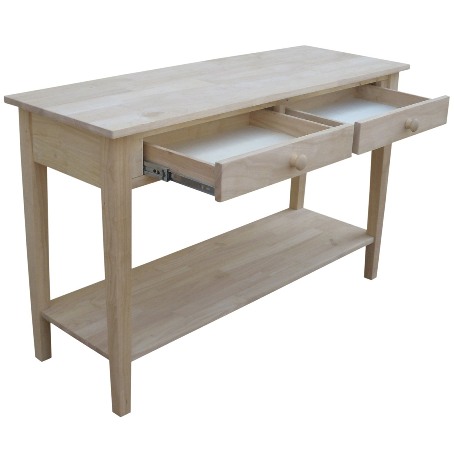 Amazon international concepts spencer sofa server table amazon international concepts spencer sofa server table kitchen dining geotapseo Image collections