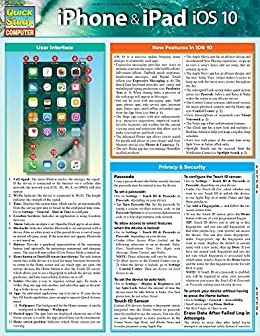iPhone & iPad iOS 10: QuickStudy Laminated Reference Guide