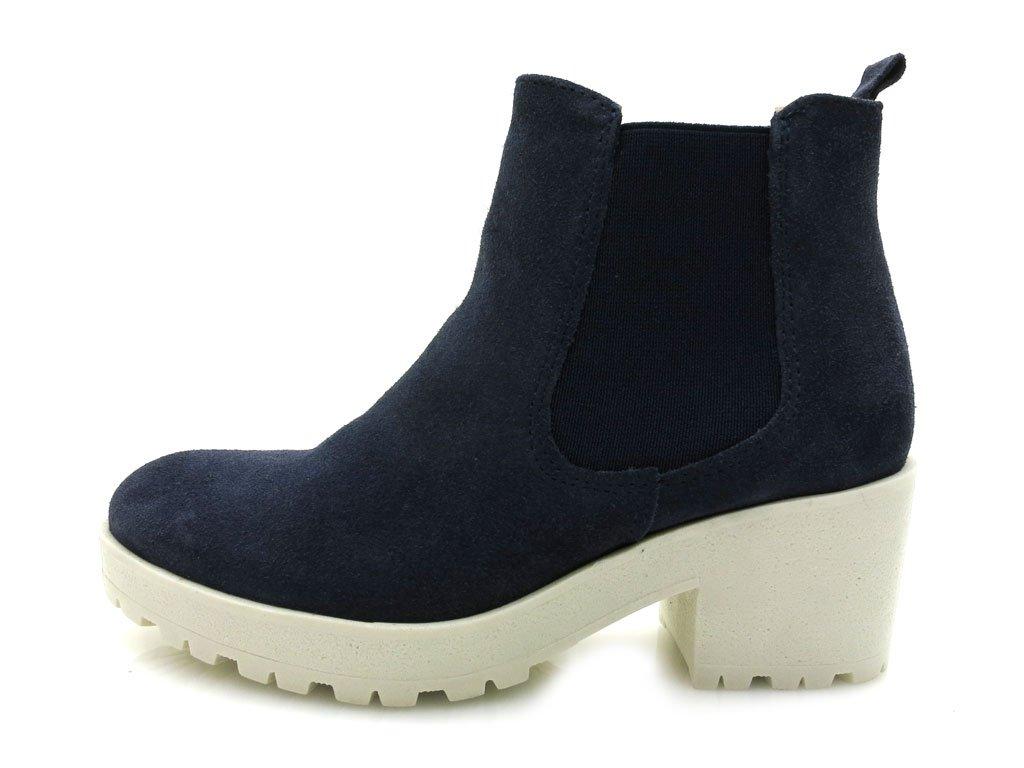 Tamaris - Plateaustiefelette - 1-25487-33 Navy-White EUR 41: Amazon.de:  Schuhe & Handtaschen